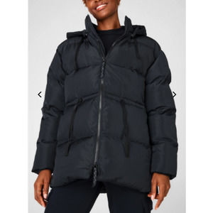 Fabletics Women's Black Puffer Coat NEW - Size: XL
